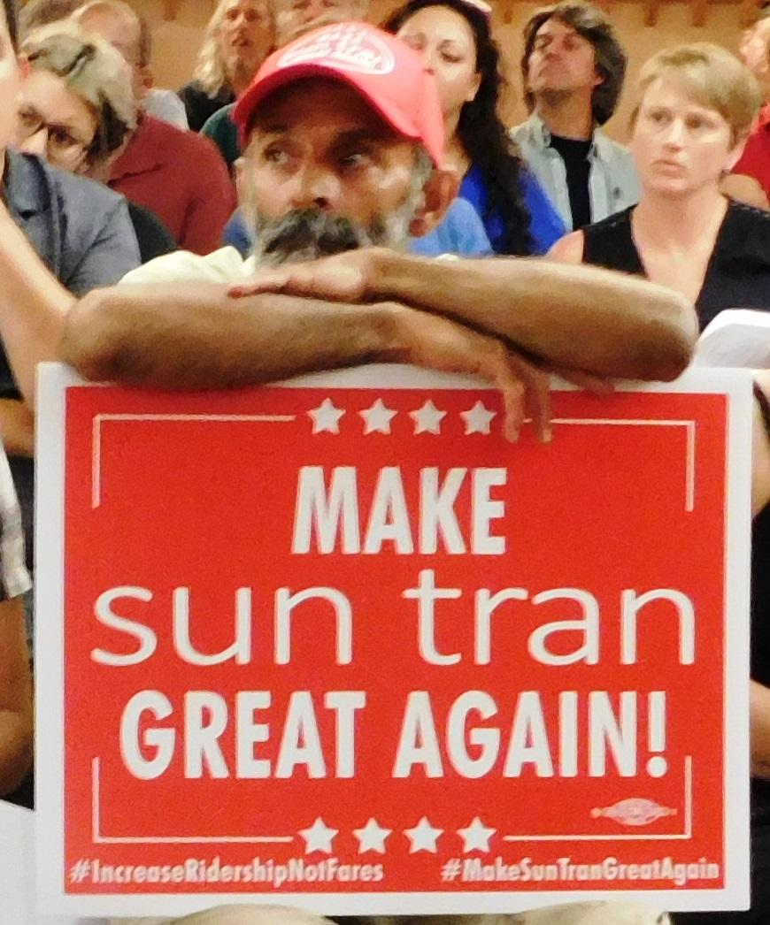 MAKE SUN TRAN GREAT AGAIN! INCREASE RIDERSHIP NOT FARES! // Hagan