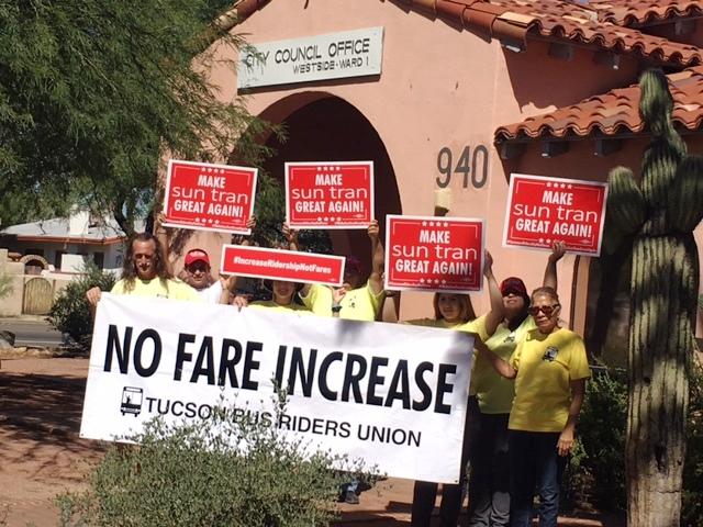Tucson Bus Riders Union | Voces de Casa Maria
