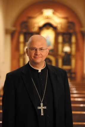 Bishop Edward J. Weisenburger Picture from AZ Daily Star, Courtesy of Roman Catholic Diocese of Tucson